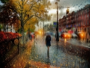 Yağmur Yağarken
