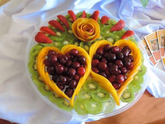 Meyve Sunum Tabağı