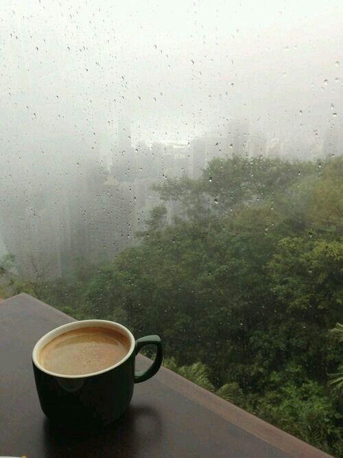 Yağmurlu Havada Kahve Keyfi