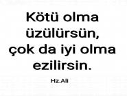 Hz.Ali Sözleri
