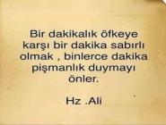 Hz Ali Sabır Sözleri