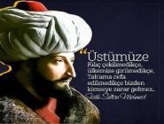 Fatih Sultan Mehmet Sözleri