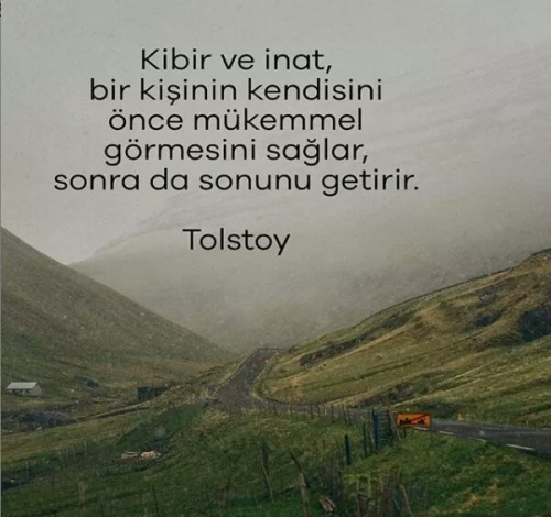 Tolstoy Sözleri