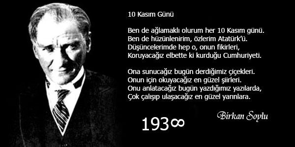 Atatürk 10 Kasım Mesajları