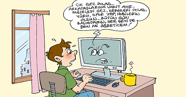 Karikatür Bilgisayar İndir